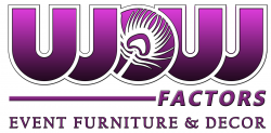 Wow-Factors Event Furniture & Decor